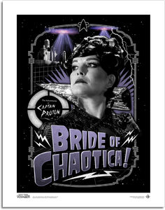 [Star Trek: Voyager: The 55 Collection: Art Print: Bride Of Chaotica! (Product Image)]