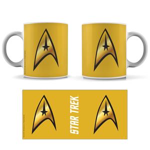 [Star Trek: The Original Series: The 55 Collection: Mug: Command Badge (Product Image)]