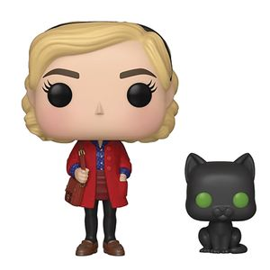 [The Chilling Adventures Of Sabrina: Pop! Vinyl Figure: Sabrina With Salem (Product Image)]