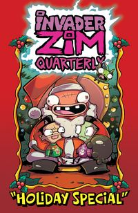 [The cover for Invader Zim: Quarterly: Holiday Special #1 (Cover A Alexovich)]