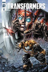 [Transformers #19 (Freddie Williams II Variant) (Product Image)]