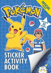 [The Pokemon Sticker Activity Book (Product Image)]