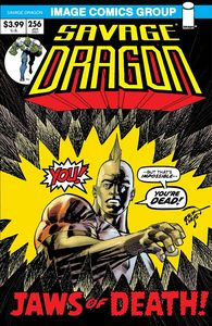 [Savage Dragon #256 (Cover B Retro 70's Trade Dress) (Product Image)]