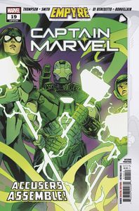 [Captain Marvel #19 (2nd Printing Smith Variant) (Product Image)]