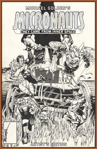 [Michael: Golden Micronauts: Artist Edition (Hardcover) (Product Image)]