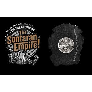 [Doctor Who: Flashback Collection: Enamel Pin Badge: Sontaran Glory (Product Image)]