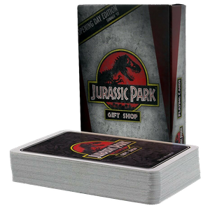 [Jurassic Park: Playing Cards (Product Image)]