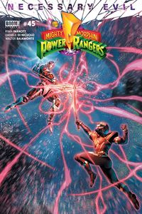 [Mighty Morphin Power Rangers #45 (Cover A Campbell) (Product Image)]