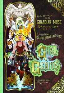 [Girl Genius: Volume 10: Agatha Heterodyne And The Guardian Muse (Hardcover) (Product Image)]