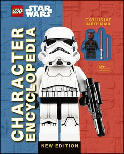 [LEGO: Star Wars: Character Encyclopedia: Darth Maul Minifigure (Hardcover) (Product Image)]