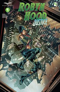 [The cover for Robyn Hood: Justice #1 (Cover A Vitorino)]