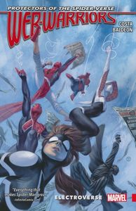 [Web Warriors Of The Spider-Verse: Volume 1: Electroverse (Product Image)]