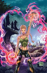 [Grimm Fairy Tales Presents Quarterly Darkwatchers #1 (Cover A Salazar) (Product Image)]