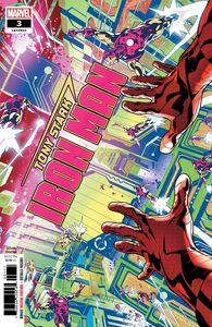 [Tony Stark: Iron Man #3 (2nd Printing Schiti Variant) (Product Image)]