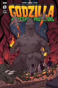 [Godzilla: Monsters & Protectors #5 (Cover A Schoening) (Product Image)]