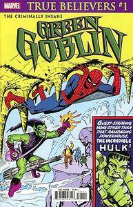 [True Believers: Criminally Insane: Green Goblin #1 (Product Image)]