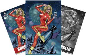[Barbarella #1 (Forbidden Planet/Jetpack Jim Balent Variant Set) (Product Image)]