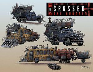 [Crossed Plus 100 #2 (Design Sketch Variant) (Product Image)]