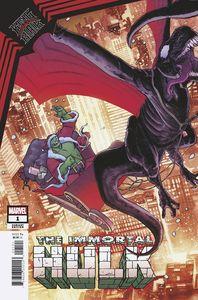 [King In Black: Immortal Hulk #1 (Kuder Santa Claus Variant) (Product Image)]