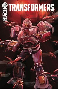 [Transformers #34 (Cover B Margevich) (Product Image)]