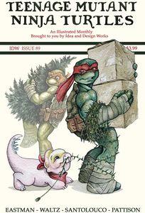 [Teenage Mutant Ninja Turtles: Ongoing #89 (Cover B Eastman) (Product Image)]