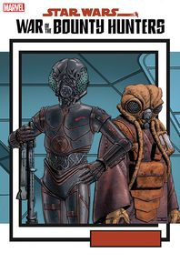 [Star Wars: War Of The Bounty Hunters #5 (Trading Card Variant) (Product Image)]