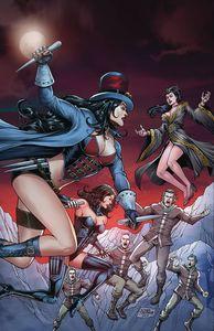 [Van Helsing Vs The Werewolf #5 (Cover B Salonga) (Product Image)]