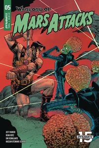 [Warlord Of Mars Attacks #5 (Cover C Melnikov) (Product Image)]