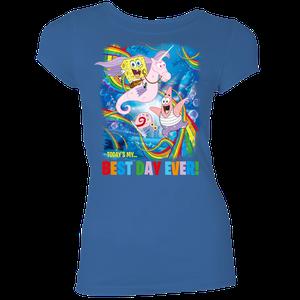 [SpongeBob SquarePants: Women's Fit T-Shirt: Best Day! (Product Image)]