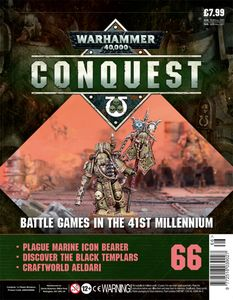 [Warhammer 40K: Conquest: Figurine Collection #66 (Product Image)]