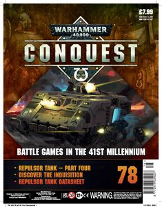 [Warhammer 40K: Conquest: Figurine Collection #78 (Product Image)]