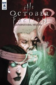 [October Faction: Supernatural Dreams #4 (Cover B Worm) (Product Image)]