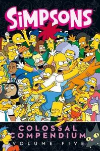[Simpsons Comics: Colossal Compendium: Volume 5 (Product Image)]