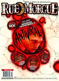 [The cover for Rue Morgue Magazine #130]