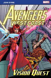 [Marvel Pocket Books: Avengers West Coast: Vision Quest (Product Image)]