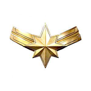 [Captain Marvel: Pewter Lapel Pin: Logo (Product Image)]