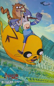 [Adventure Time Regular Show #1 (Signed SDCC Exclusive) (Product Image)]
