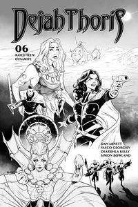 [Dejah Thoris: 2019 #6 (Georgiev Black & White Variant) (Product Image)]
