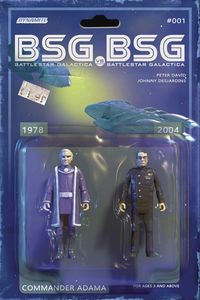 [BSG Vs BSG #1 (Cover C Adama Action Figure) (Product Image)]