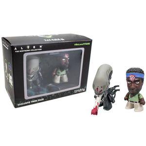 [Alien: TITANS: 2 Pack Brain-Splatter Parker & Bloodied Xenomorph (Product Image)]