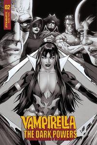 [Vampirella: Dark Powers #2 (Lau B&W Variant) (Product Image)]