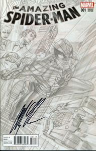 [Amazing Spider-Man #1 (Signed Ross Sketch Variant) (Product Image)]
