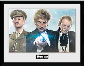 [Doctor Who: Framed Print: Christmas 2017 (Product Image)]