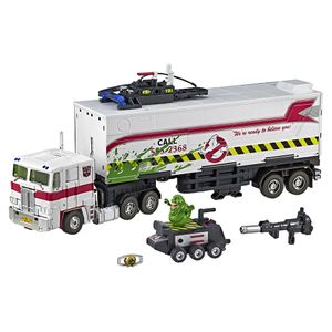 [Transformers/Ghostbusters: Masterpiece SDCC Action Figure: Ecto-35 Optimus Prime (Product Image)]