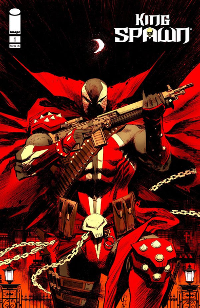 [The cover for King Spawn #1 (Cover D Murphy)]