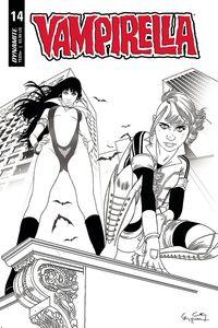 [Vampirella #14 (Gunduz Black & White Variant) (Product Image)]