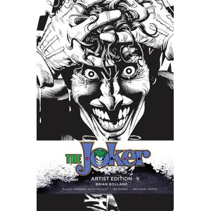 [DC Comics: Artist Edition Ruled Journal: Joker (Hardcover) (Product Image)]