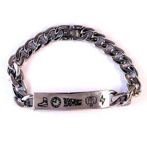 [Back To The Future: Stainless Steel Bracelet (Product Image)]