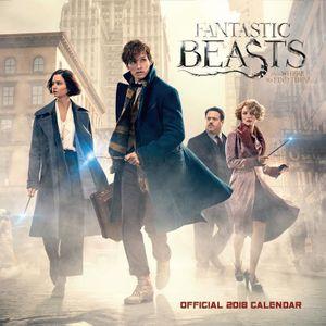 [Fantastic Beasts: 2018 Square Calendar (Product Image)]