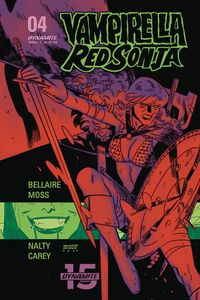 [Vampirella Red Sonja #4 (Cover D Romero & Bellaire) (Product Image)]